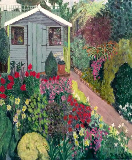 Annie's Garden - Art Gallery - Hampton London Artist Jenny Brown