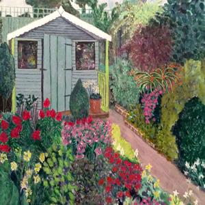 Annie's Garden – Art Gallery – Hampton London Artist Jenny Brown