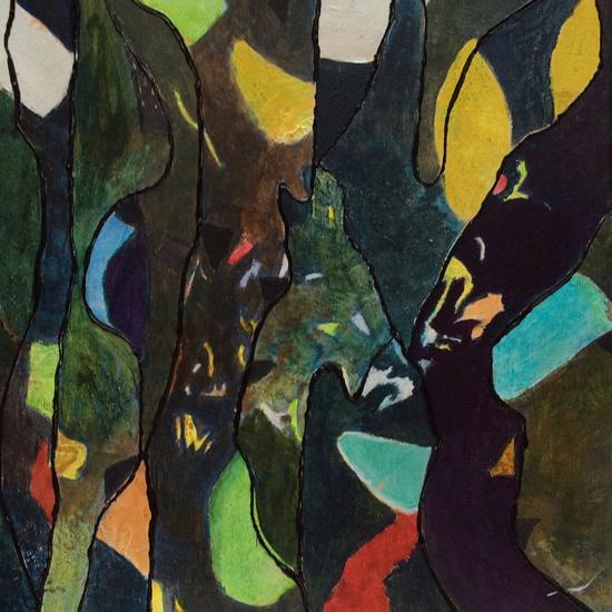 Art Gallery - Falling To Earth 3 - Hampton London Artist Jennifer Brown