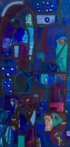Art Gallery - Through The Windows - Hampton London Artist Jennifer Brown