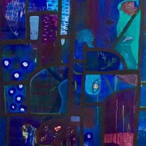 Art Gallery – Through The Windows – Hampton London Artist Jennifer Brown