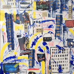 Back on Boogie Street Painting – Hampton London Artist Jennifer Brown
