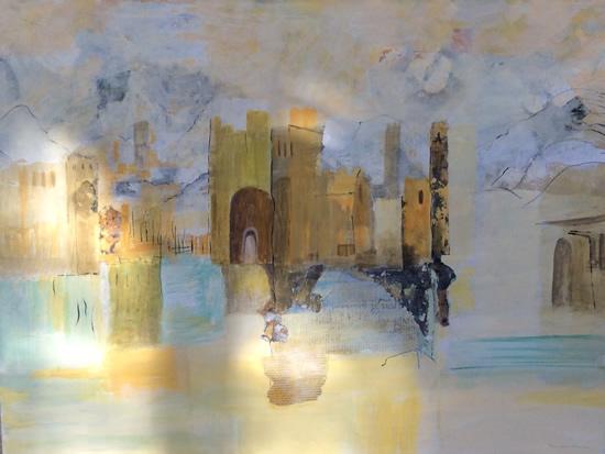 Castles in the Sand - Art Gallery - Hampton London Artist Jennifer Brown