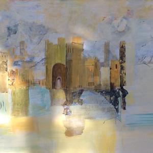 Castles in the Sand – Art Gallery – Hampton London Artist Jennifer Brown