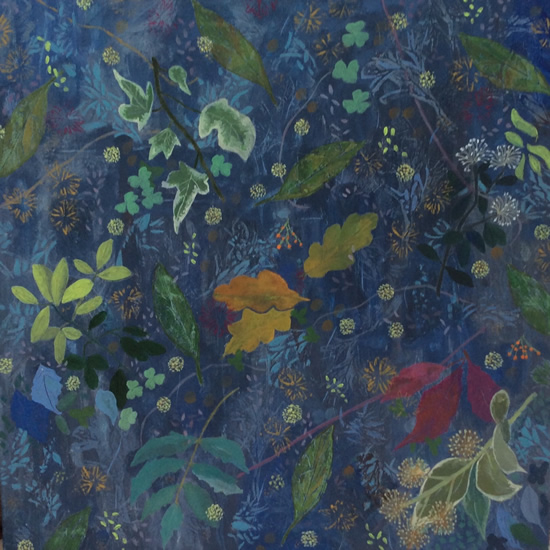 February Garden - Art Gallery - Hampton London Artist Jennifer Brown