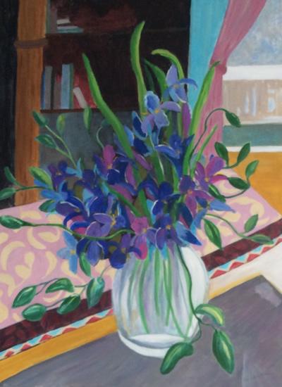 Flowers for Mr Matisse - Art Gallery - Hampton London Artist Jennifer Brown